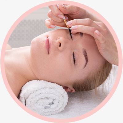 Brow and lash treament services