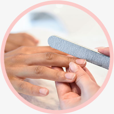 Nail treatment services